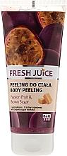 "Fragrances, Perfumes, Cosmetics Body Peeling ""Passion Fruit & Brown Sugar"" - Fresh Juice Passion Fruit & Brown Sugar"