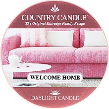 Fragrances, Perfumes, Cosmetics Tea Light Candle - Country Candle Welcome Home Daylight