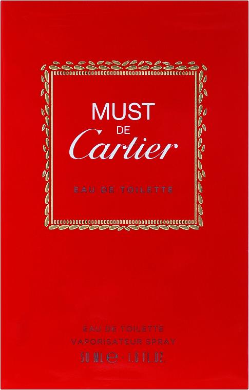 Cartier Must de Cartier - Eau de Toilette — photo N1