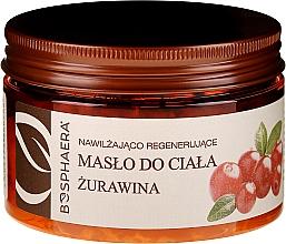 "Fragrances, Perfumes, Cosmetics Moisturizing and Regenerating Body Oil ""Cranberry"" - Bosphaera"
