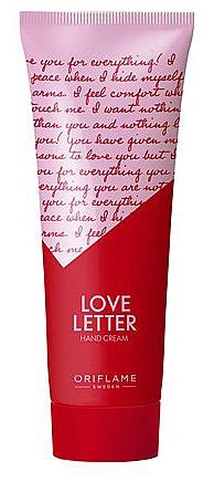 "Hand Cream ""Love Letter"" - Oriflame Love Letter Hand Cream"