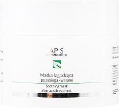 Fragrances, Perfumes, Cosmetics Face Mask - APIS Professional Exfoliation Soothing Mask After Acid Treatment