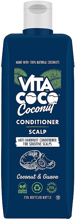 Anti-Dandruff Coconut & Guava Conditioner - Vita Coco Scalp Coconut & Guava Conditioner — photo N1