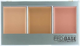 Fragrances, Perfumes, Cosmetics Concealer Palette - MUA Pro-Base Conceal & Brighten Kit
