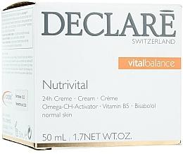 Fragrances, Perfumes, Cosmetics 24 Hour Nourishing Cream - Declare Nutrivital 24 h Cream
