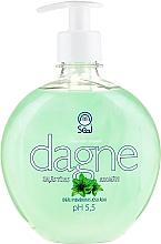 """Fragrances, Perfumes, Cosmetics Liquid Soap """"Green Tea"""" - Seal Cosmetics Dagne Liquid Soap"""