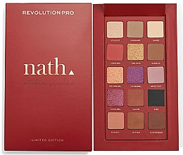 Fragrances, Perfumes, Cosmetics Eyeshadow Palette - Makeup Revolution Pro X Nath Eyeshadow Palette