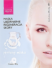 Fragrances, Perfumes, Cosmetics Face Mask with Milk Proteins - Czyste Piekno Face Mask
