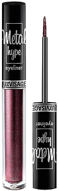 Colored Eyeliner - Luxvisage Metal Hype Eyeliner