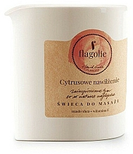Fragrances, Perfumes, Cosmetics Citrus Hydration Massage Candle - Flagolie Citrus Hydration Massage Candle