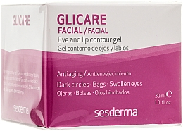 Fragrances, Perfumes, Cosmetics Eye & Lip Contour Gel - SesDerma Laboratories Glycare Eye and Lip Contour Gel