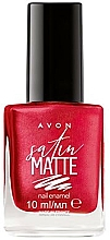Fragrances, Perfumes, Cosmetics Nail Polish - Avon Satin Matte Nail Enamel