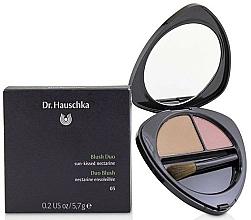 Fragrances, Perfumes, Cosmetics Double Face Blush - Dr. Hauschka Blush Duo