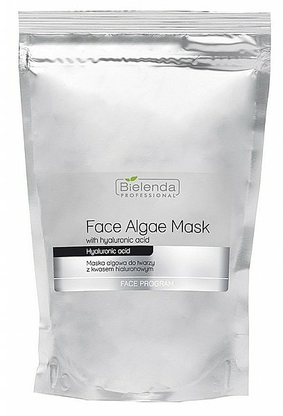 Alginate Face Mask with Hyaluronic Acid - Bielenda Professional Face Algae Mask with Hyaluronic Acid (refill)