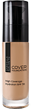 Fragrances, Perfumes, Cosmetics Moisturizing Makeup Base - Gabriella Salvete Cover Foundation SPF30