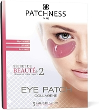 Fragrances, Perfumes, Cosmetics Eye Patches - Patchness Eye Patch Pink