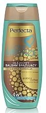 Fragrances, Perfumes, Cosmetics Body Bronzing Balm, dark - Perfecta I Love Bronze Balm