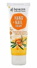 Fragrances, Perfumes, Cosmetics Sea Buckthorn & Orange Hand and Nail Cream - Benecos Natural Care Sea Buckthorn & Orange Hand And Nail Cream