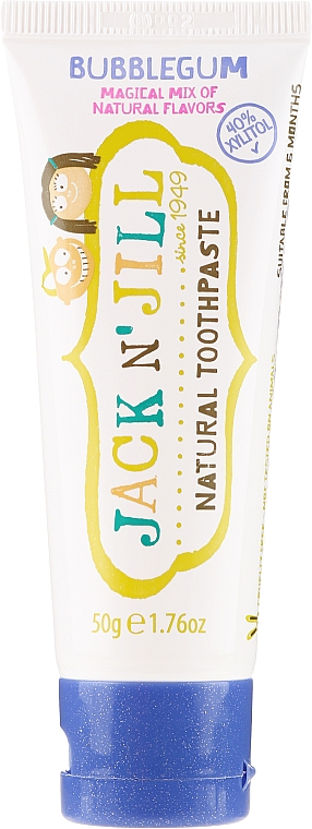 Kids Toothpaste with Gum Flavor - Jack N' Jill