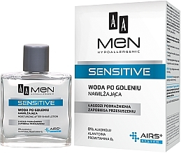 Fragrances, Perfumes, Cosmetics After Shave Lotion - AA Men Sensitive After Shave Moisturising Lotion