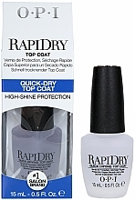 Fragrances, Perfumes, Cosmetics Quick Dry Top Coat - O.P.I RapiDry TopCoat