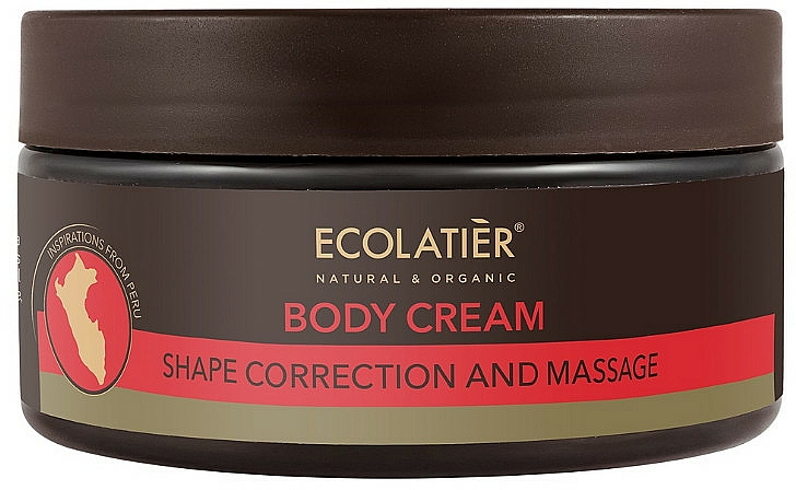 Shape Correction Body Cream - Ecolatier