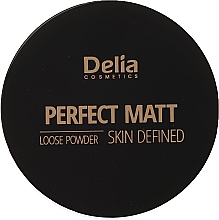 Fragrances, Perfumes, Cosmetics Face Loose Powder - Delia Perfect Matt Loose Powder Skin Defined