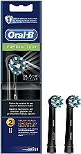 Fragrances, Perfumes, Cosmetics Replaceable Electric Toothbrush Head Cross Action CA EB50 Black Edition - Oral-B