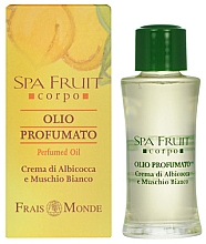 Fragrances, Perfumes, Cosmetics Frais Monde Spa Fruit Apricot And White Musk Perfumed Oil - Perfumed Oil