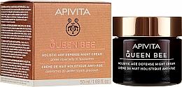 Fragrances, Perfumes, Cosmetics Age Defence Night Face Cream - Apivita Queen Bee Holistic Age Defense Night Cream