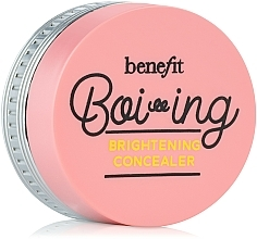Fragrances, Perfumes, Cosmetics Highlighting Concealer - Benefit Boi-Ing Brightening Concealer