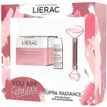 Fragrances, Perfumes, Cosmetics Set - Lierac Supra Radiance Set (f/cr/50ml + f/milk/30ml + roller/1pcs)