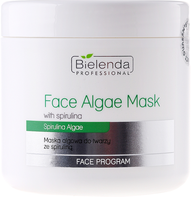 Alginate Face Mask with Spirulina - Bielenda Professional Algae Spirulina Face Mask