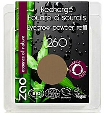 Fragrances, Perfumes, Cosmetics Brow Shadow - Zao Eyebrow Powder (refill)