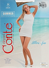 "Fragrances, Perfumes, Cosmetics Women's Tights ""Summer"" 8 Den, natural - Conte"