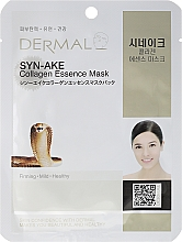 Fragrances, Perfumes, Cosmetics Collagen and Peptide Mask - Dermal Syn-Ake Collagen Essence Mask
