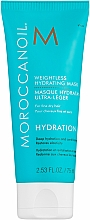 Fragrances, Perfumes, Cosmetics Light Moisturizing Mask for Thin Hair - Moroccanoil Weightless Hydrating Mask Moroccanoil