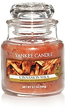 """Fragrances, Perfumes, Cosmetics Scented Candle """"Cinnamon Stick"""" - Yankee Candle Cinnamon Stick"""