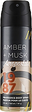 Fragrances, Perfumes, Cosmetics Body Spray - Aeropostale Amber + Musk Fragrance Body Spray