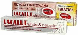 Fragrances, Perfumes, Cosmetics Set - Lacalut White & Repair Set (t/paste/75ml+dental/floss)