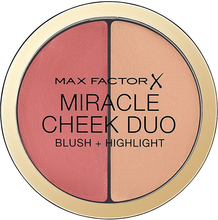 Face Contour Palette - Max Factor Miracle Cheeck Duo