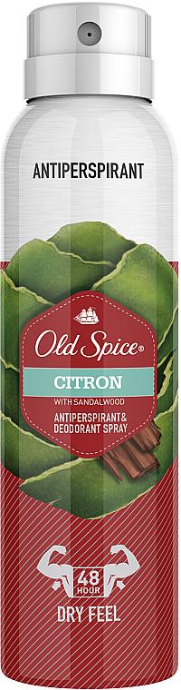 Aerosol Antiperspirant - Old Spice Citron Dezodorant Spray