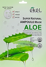Fragrances, Perfumes, Cosmetics Aloe Extract Sheet Mask - Ekel Super Natural Ampoule Mask Aloe