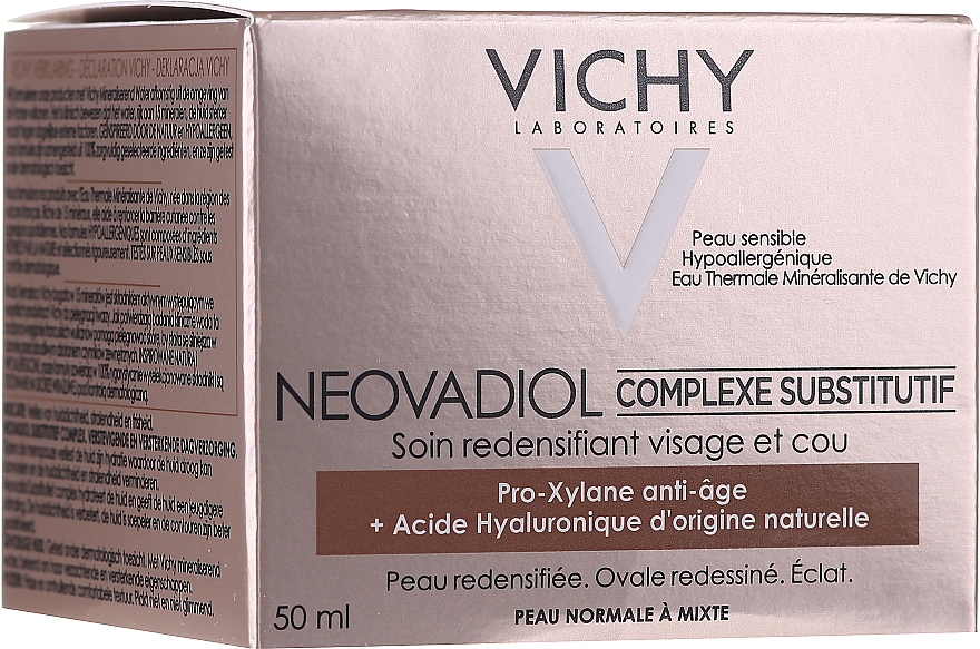 Anti-Aging Compensating Cream Treatment for Normal and Combination Skin - Vichy Neovadiol Compensating Complex