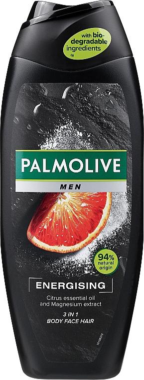 Shampoo-Shower Gel for Men - Palmolive Men Energizing 3 in 1