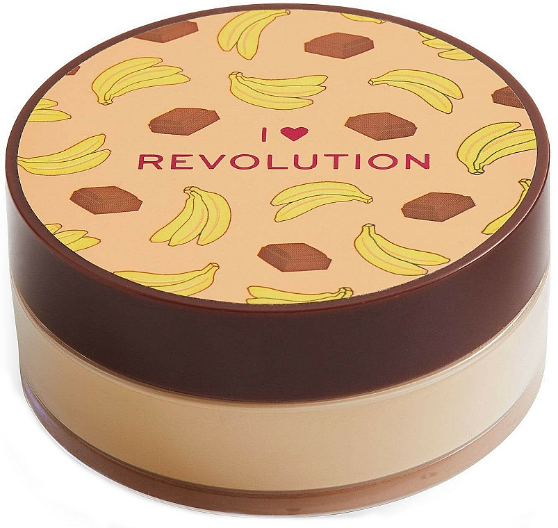 Face Baking Powder Chocolate Banana - I Heart Revolution Loose Baking Powder Chocolate Banana