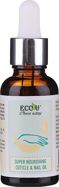 Nourishing Cuticle & Nail Oil - Eco U Super Nourishing Cuticle & Nail Oil