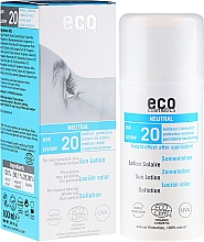 Fragrances, Perfumes, Cosmetics Scent-Free Sun Lotion - Eco Cosmetics Sun Lotion SPF 20
