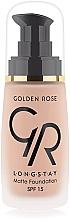 Fragrances, Perfumes, Cosmetics Foundation - Golden Rose Longstay Matte Foundation