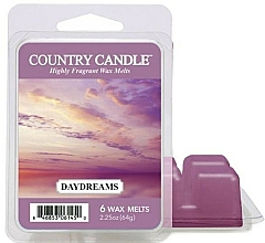 Fragrances, Perfumes, Cosmetics Wax for Aroma Lamp - Country Candle Daydreams Wax Melts